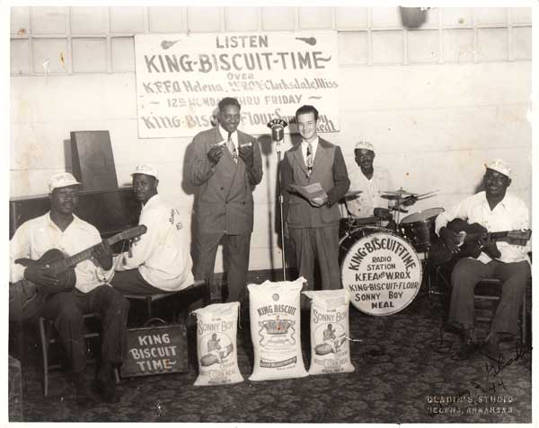 Sonny Boy Williamson – 1944 King Biscuit Time Photograph