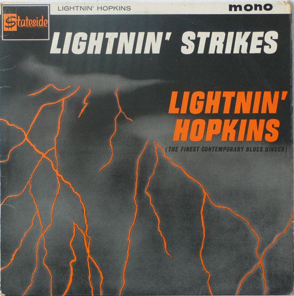 lightnin u0026 39  hopkins  u2013 signed  inscribed uk lightnin u0026 39  strikes lp