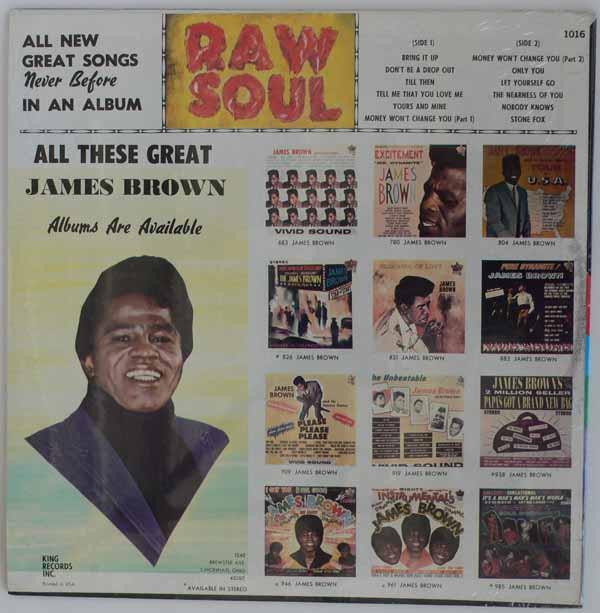 James Brown Raw Soul