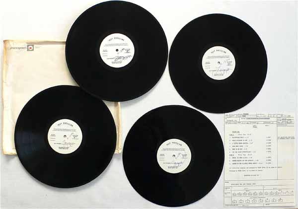"""Frank Zappa – Unreleased 4 LP """"Läther"""" Test Pressings"""