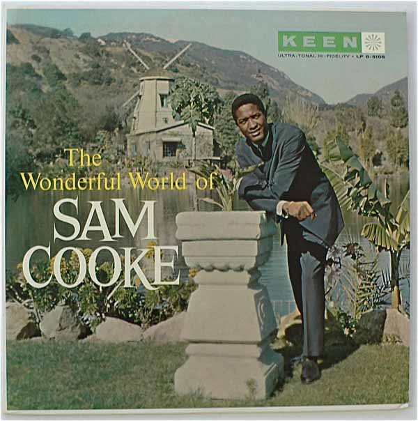 "Sam Cooke – Mint ""Wonderful World of Sam Cooke"" LP on Keen"