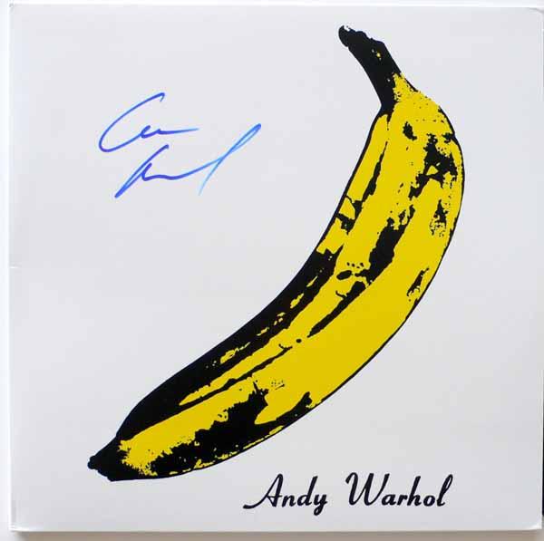 Velvet Underground – Lou Reed Signed VU & Nico Album