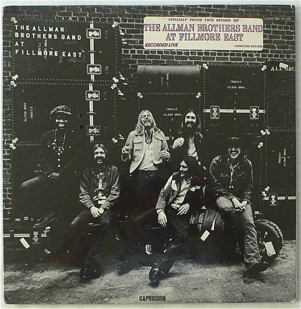 The Allman Brothers Band – Sealed Live At The Fillmore East LP