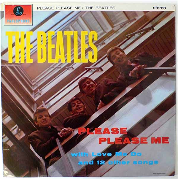 The Beatles – UK Stereo Please Please Me LP
