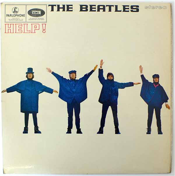 The Beatles – UK Stereo 1st Press Help LP