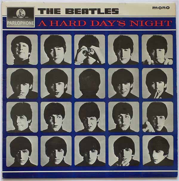The Beatles – UK Mono 1st Pressing A Hard Day's Night LP
