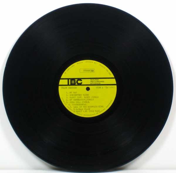 The Who – UK IBC acetate of rare & unreleased tracks