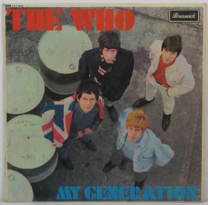 The Who – UK 1st pressing of My Generation LP