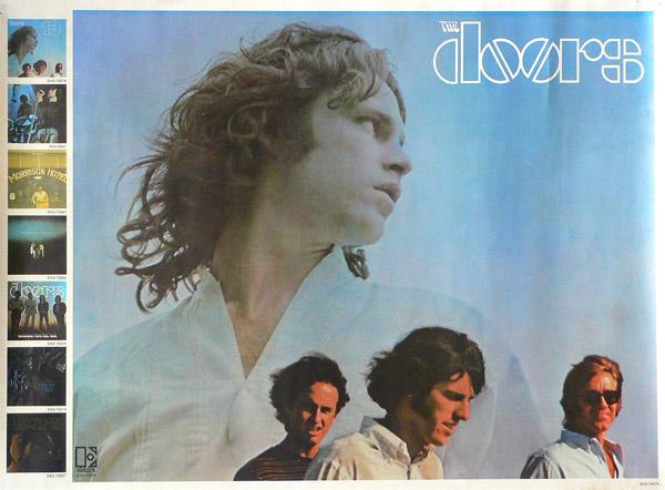 The doors promo poster for 13 album for 13 door