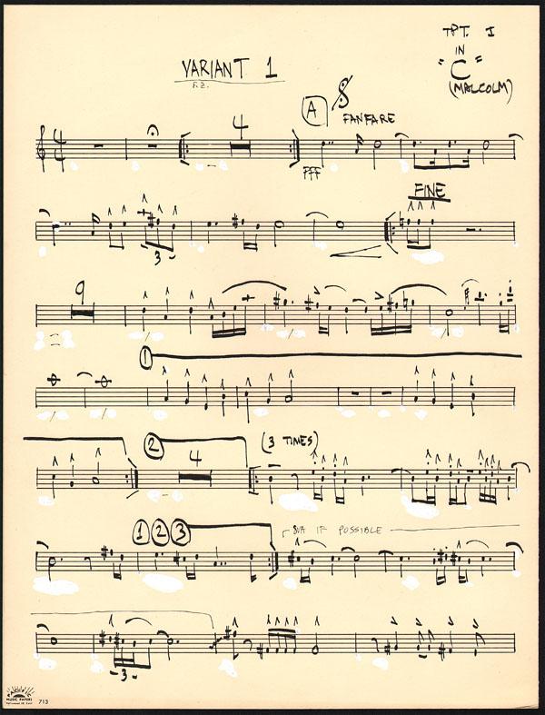 Handwritten Music Handwritten Musical