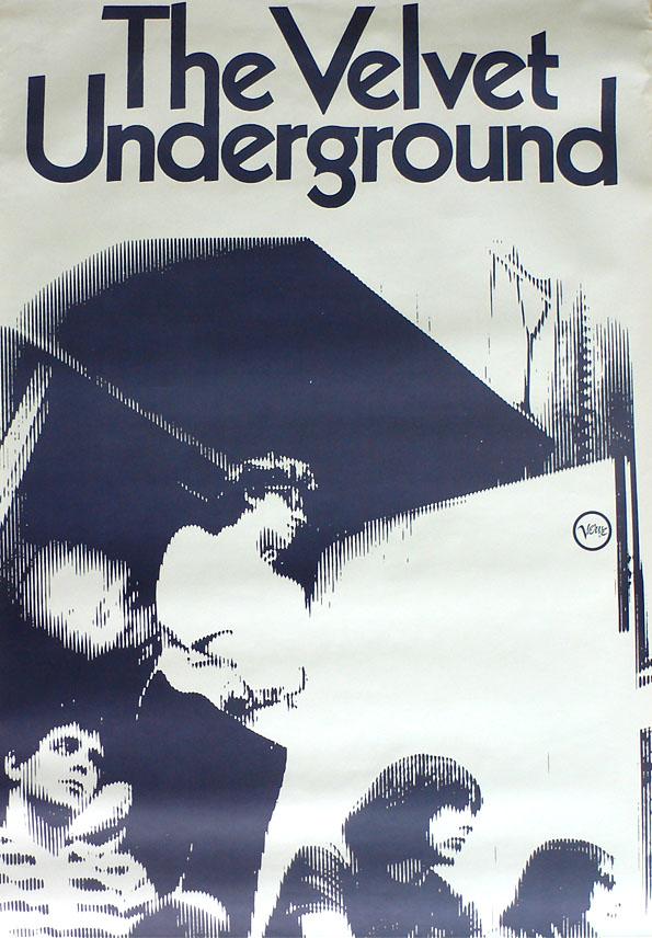 Velvet Underground – 1968 White Light/White Heat Promo Poster