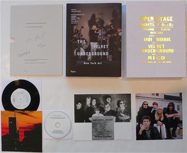 Velvet Underground – Band Signed Book/Contributor Copy w/Extras–1 of 20