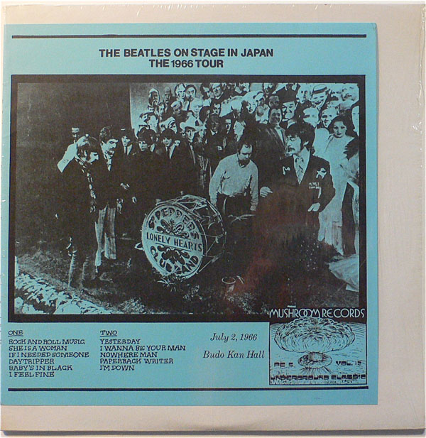 The Beatles – Splatter Vinyl On Stage In Japan LP