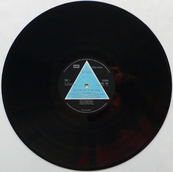 Pink Floyd Uk 1st Pressing Dark Side Of The Moon Lp