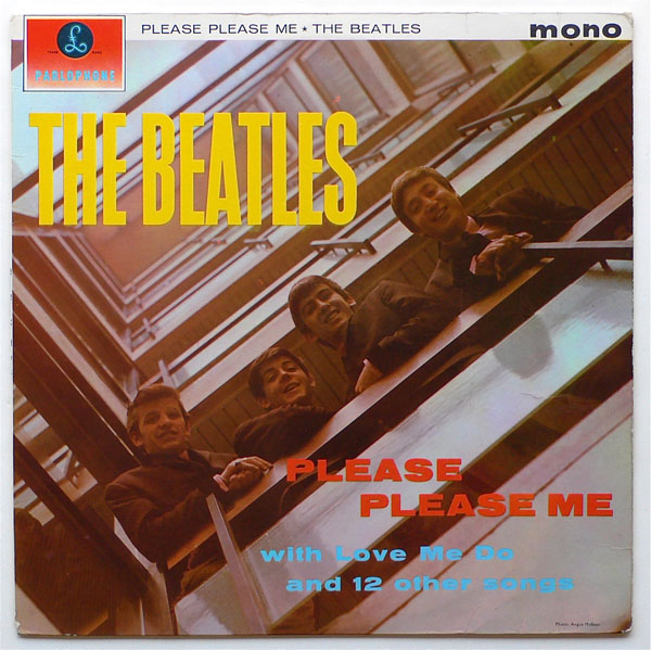 The Beatles – 1963 4th Pressing Please Please Me LP