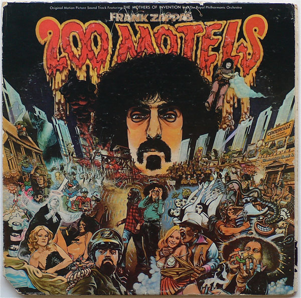 Frank Zappa & Mothers of Invention – Band Signed 200 Motels LP & Memorabilia