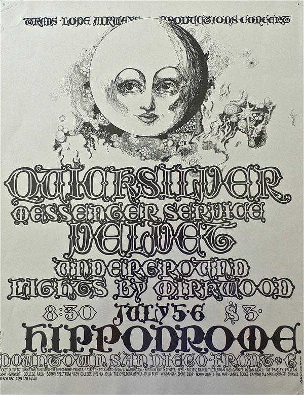 Velvet Underground – Sterling Morrison Owned VU Poster